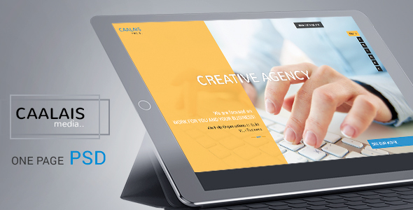 CAALAIS – Digital Agency One Page PSD Template