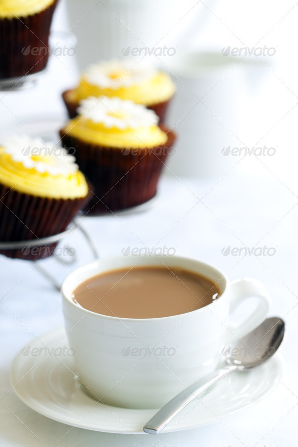 Afternoon tea or coffee - Stock Photo - Images