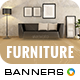 Furniture Banners - GraphicRiver Item for Sale