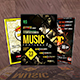 Bundle Of Music Festival Flyer/Poster - GraphicRiver Item for Sale
