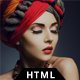 Angel - Responsive Model Agency Website Template Nulled