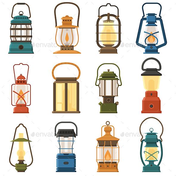 Vintage Camping Lantern Collection