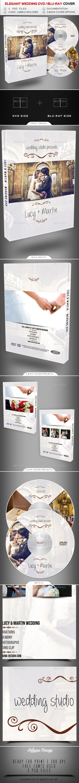 Wedding DVD / Blu Ray Cover 2 - CD & DVD Artwork Print Templates