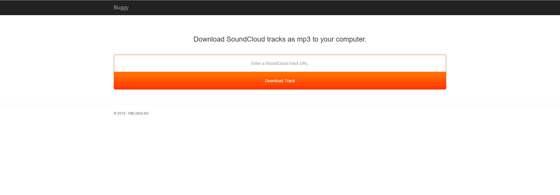 SoundCloud Downloader Script & Class