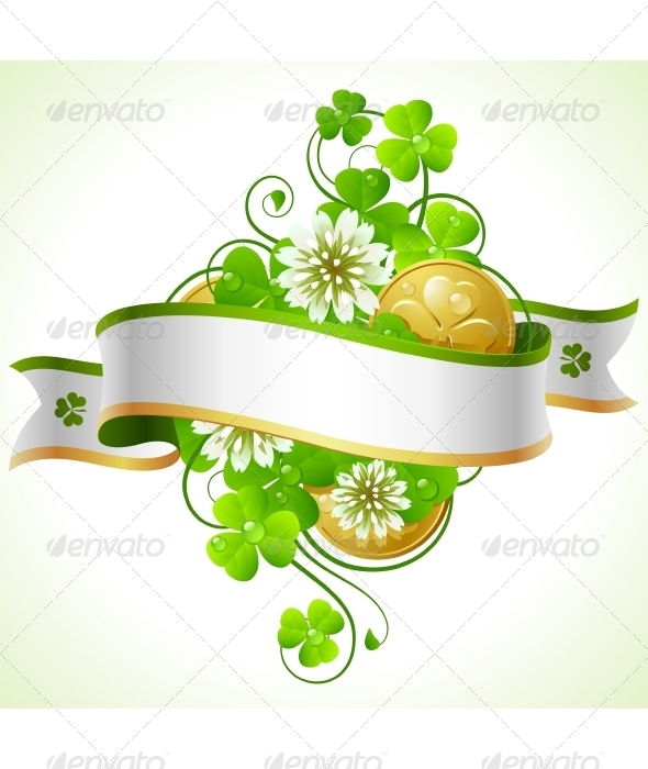 Saint Patrick Day frame - Seasons/Holidays Conceptual