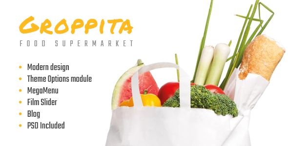 Gropitta – Food Supermarket Magento 2 Theme