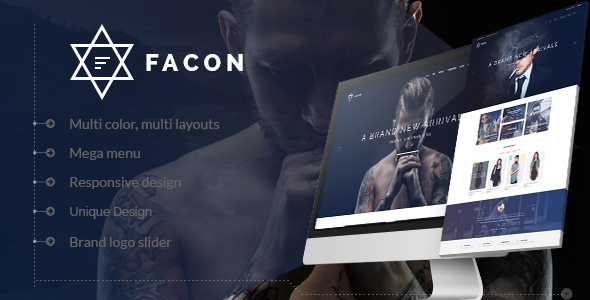 Facon – eCommerce Fashion Template