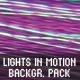 Lights in Motion Backgrounds #1 - GraphicRiver Item for Sale