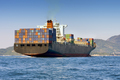 cargo container ship - PhotoDune Item for Sale