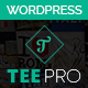 TEEPRO - Woocommerce Custom T-Shirt Designer WordPress Theme Nulled