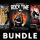 Rock Concert Flyer Bundle - GraphicRiver Item for Sale