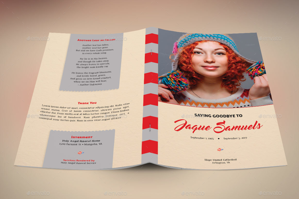 Preview Image Set/Goodbye Funeral Program Preview 1 Preview Image  Set/Goodbye Funeral Program Preview 2 Preview Image ...  Funeral Flyer Template