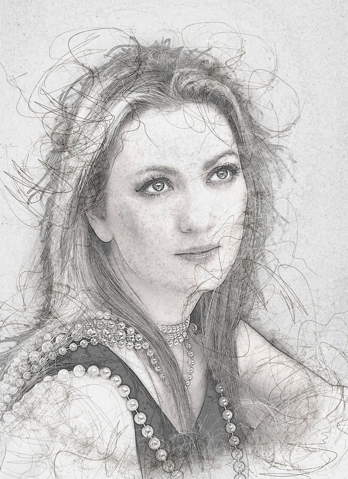 Realistic pencil sketch photoshop action v 3