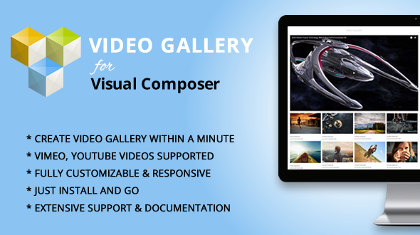Elegant Mega Addons for WPBakery Page Builder (formerly Visual Composer) Video Gallery Module - CodeCanyon Item for Sale