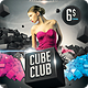 Cube Club Flyer - GraphicRiver Item for Sale