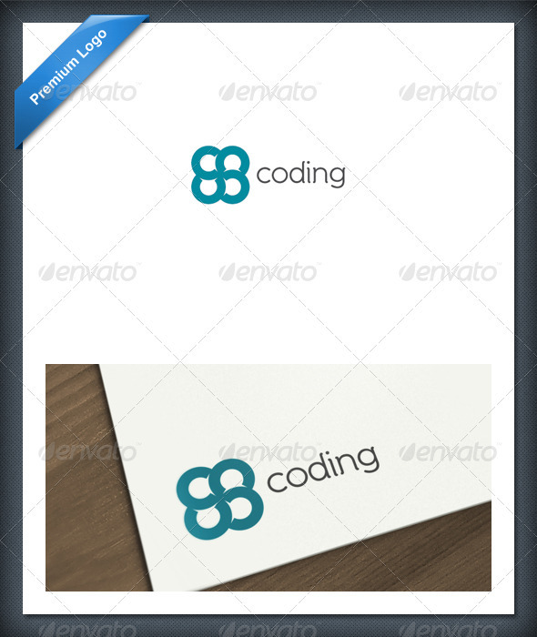 Coding Logo Template - Abstract Logo Templates