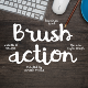 Brush Action Font - GraphicRiver Item for Sale