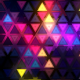 Flashing Triangles Wall VJ Loop - VideoHive Item for Sale