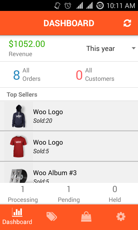 WooCommerce Native Application for Android