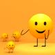3D Toon Yellow Emoji Dance - VideoHive Item for Sale