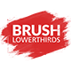 Brush Lower Thirds - VideoHive Item for Sale