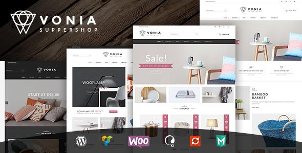 VG Vonia – Minimalist, Clean WooCommerce Theme