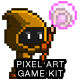 2D Pixel Game Kit 1 of 5 w character sprites & more - GraphicRiver Item for Sale