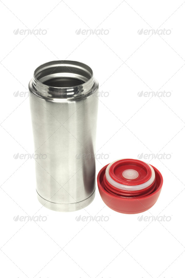 Open Thermos Flask - Stock Photo - Images