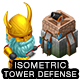 Isometric Tower Defense Game Kit 1 of 3 w character sprites & more - GraphicRiver Item for Sale