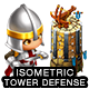 Isometric Tower Defense Game Kit 2 of 3 - GraphicRiver Item for Sale