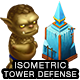 Isometric Tower Defense Game Kit 3 of 3 w character sprites & more - GraphicRiver Item for Sale