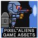 8-Bit Platformer Jetpack Pixel Hero Boy Game Kit 1 of 2 - GraphicRiver Item for Sale
