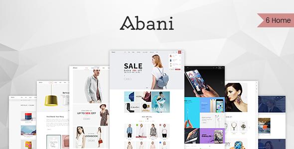 Abani – Responsive Multipurpose  WooCommerce Theme