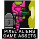 8-Bit Platformer Jetpack Pixel Hero Girl Game Kit 2 of 2 - GraphicRiver Item for Sale
