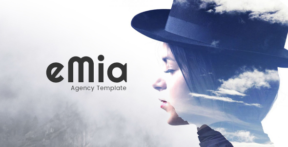 eMia - Creative Agencies & Portfolio PSD Template