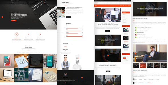 Cooper – Clean Creative Business Theme