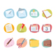 Office Icons Retro Revival Collection - Set 1 - GraphicRiver Item for Sale