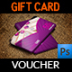 Nail Salon Gift Voucher Card Template - GraphicRiver Item for Sale