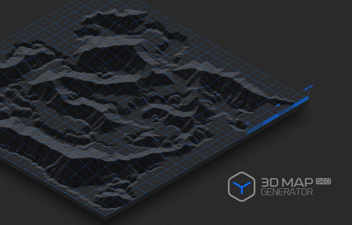 D Map Generator GEO By OrangeBox GraphicRiver - Us map pattern generator