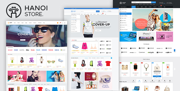 TV Hanoistore - Responsive Fashion Magento 2 Theme
