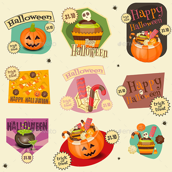 Halloween Stickers - Halloween Seasons/Holidays