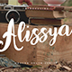 Alissya Typeface - GraphicRiver Item for Sale