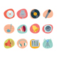 Music Icons Retro Revival Collection - Set 6 - GraphicRiver Item for Sale