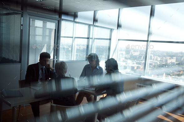 In board room - Stock Photo - Images