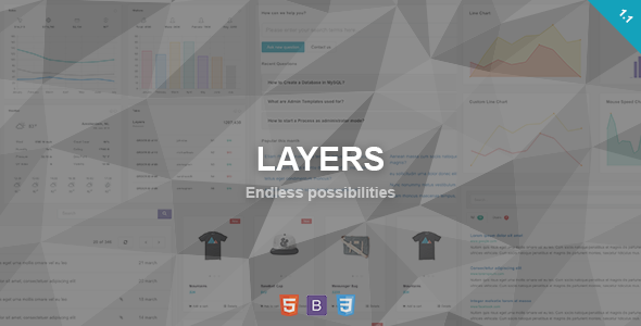 Layers – Responsive Admin Dashboard Template
