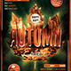 Autumn Equinox Flyer Template V2 - GraphicRiver Item for Sale