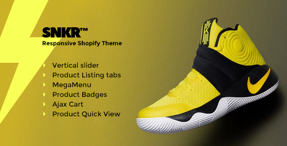 SNKR - Sneakers Responsive Shopify Theme - Fashion Shopify
