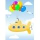 Yellow Submarine in The Sky