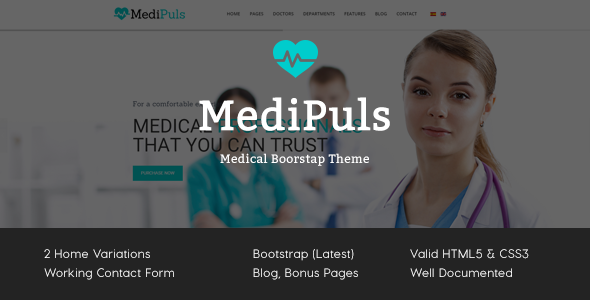 MediPuls - Medical HTML Template - Business Corporate