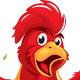 Red Rooster Celebrate - GraphicRiver Item for Sale